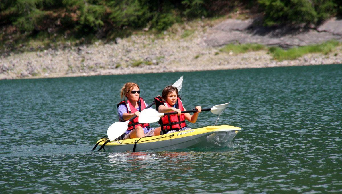 windsurf e canoa
