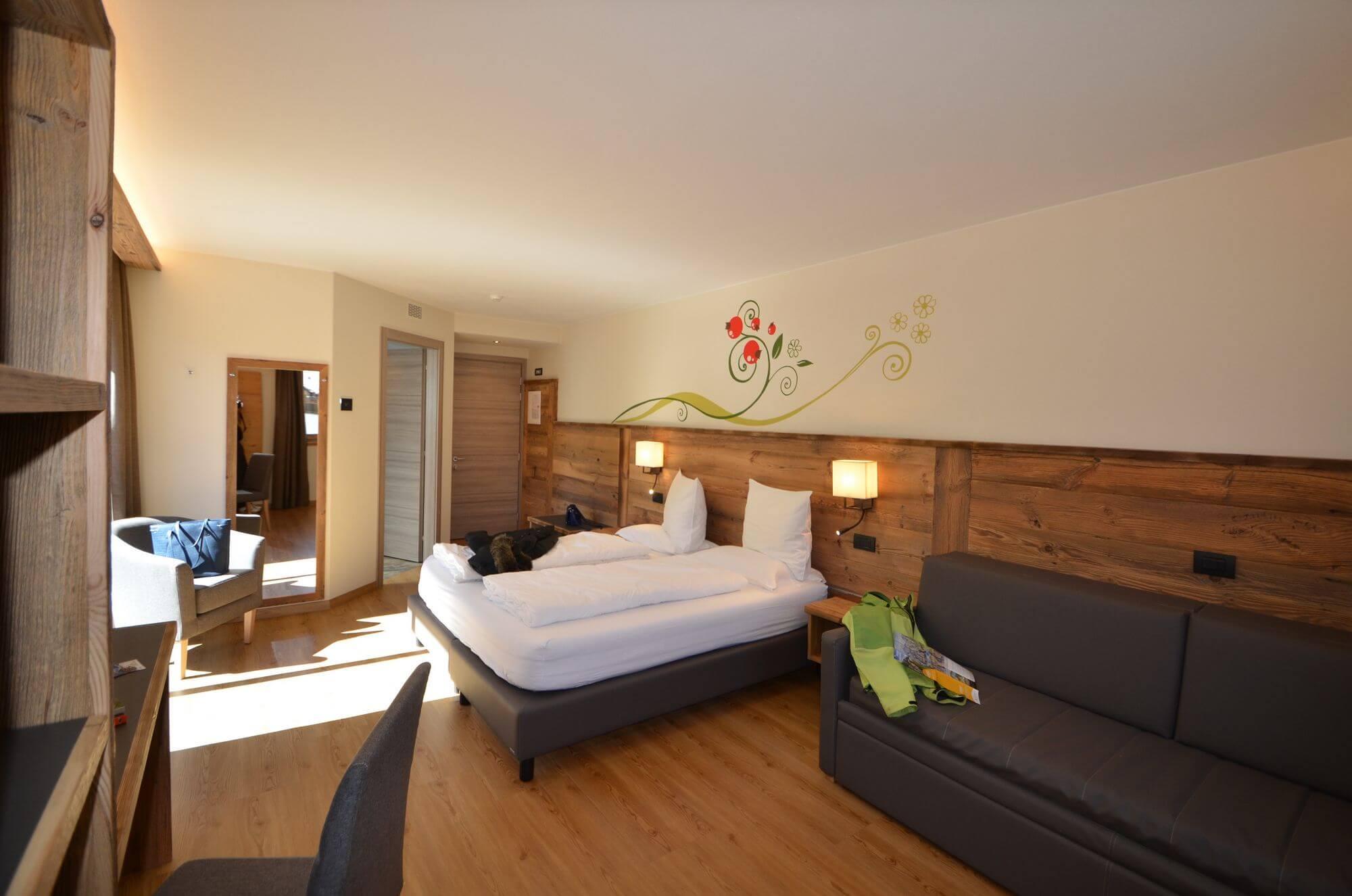 Junior Suite con parquet: Hotel Le Alpi a Livigno