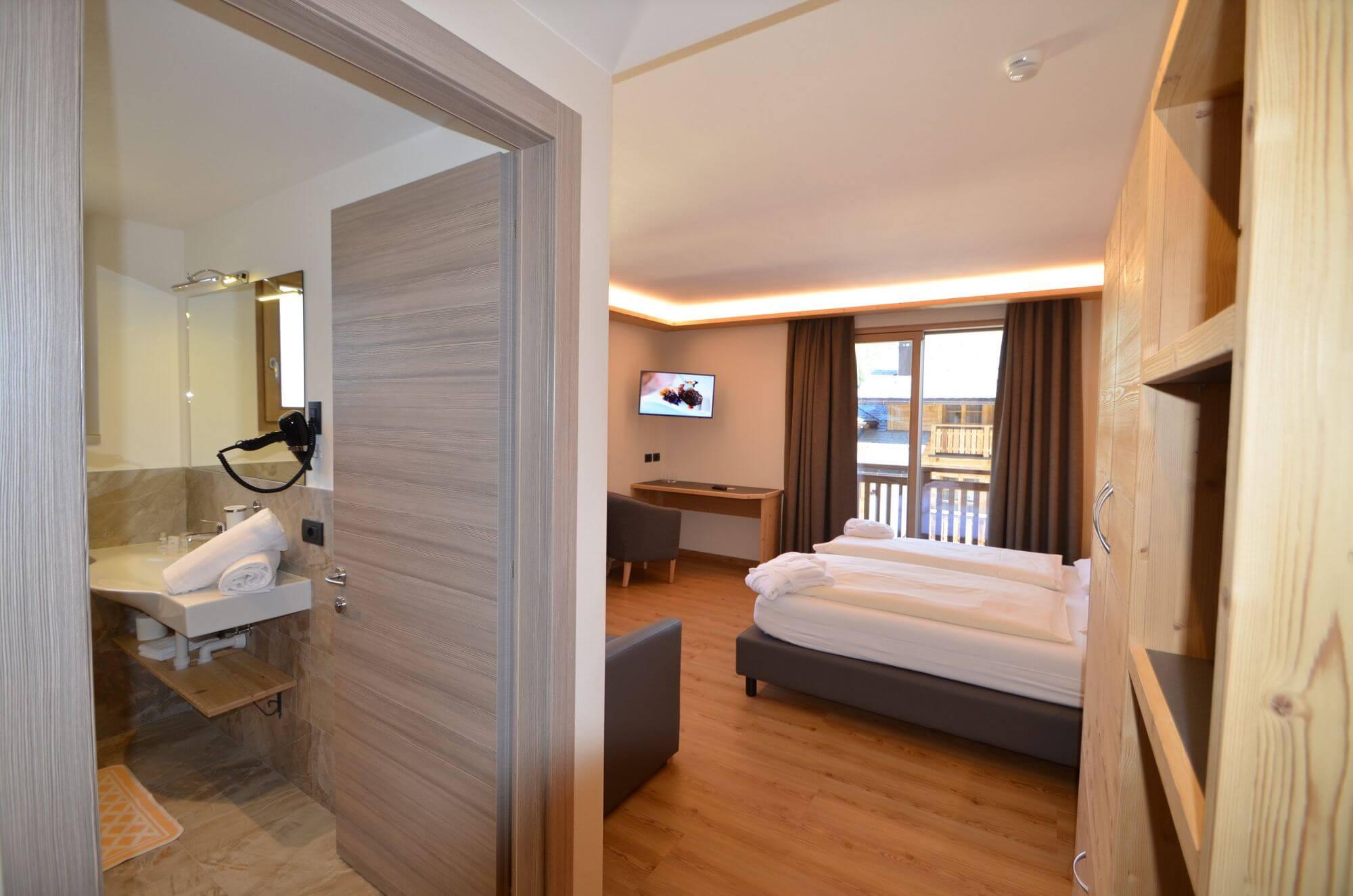 Ingresso della Junior Suite: Hotel Le Alpi a Livigno