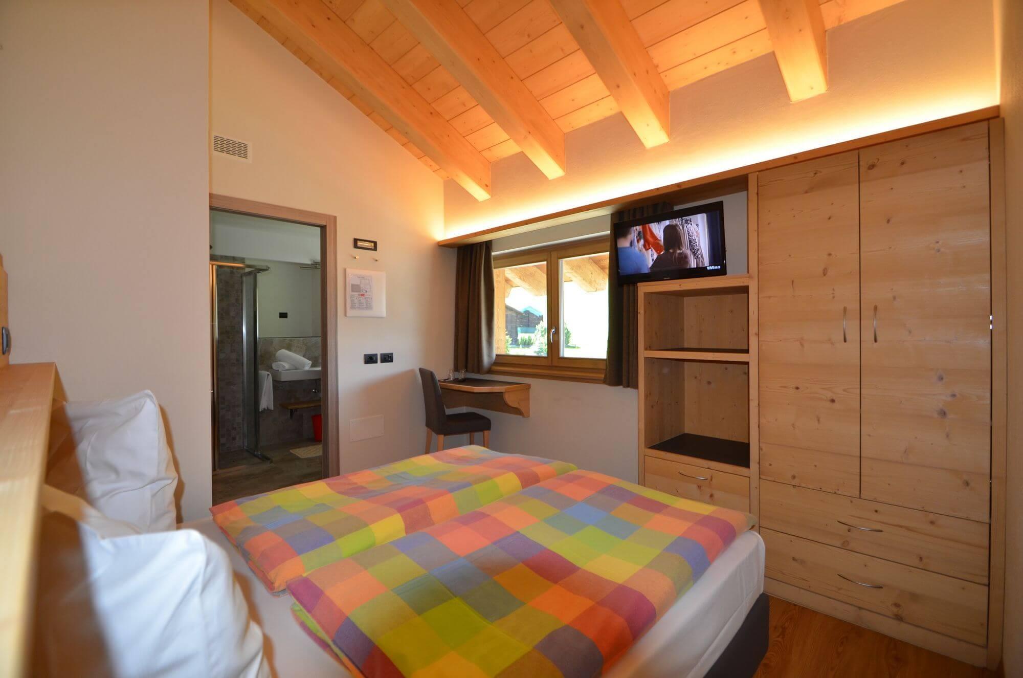 Arredamento della stanza economy - Hotel Le Alpi di Livigno