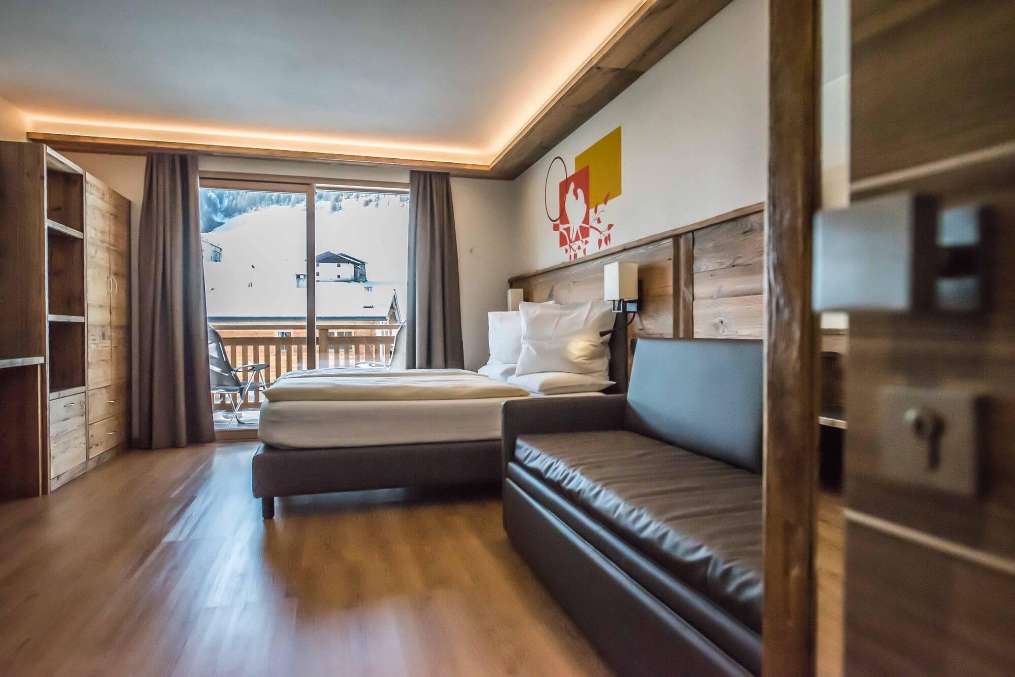 Ingresso della Camera Superior: Hotel Le Alpi a Livigno