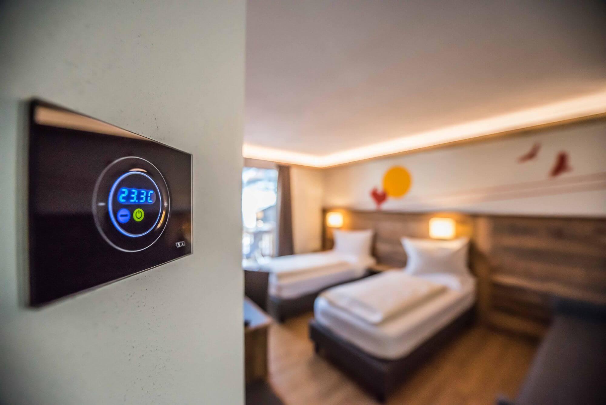 Termostato: Camera Comfort Hotel Le Alpi