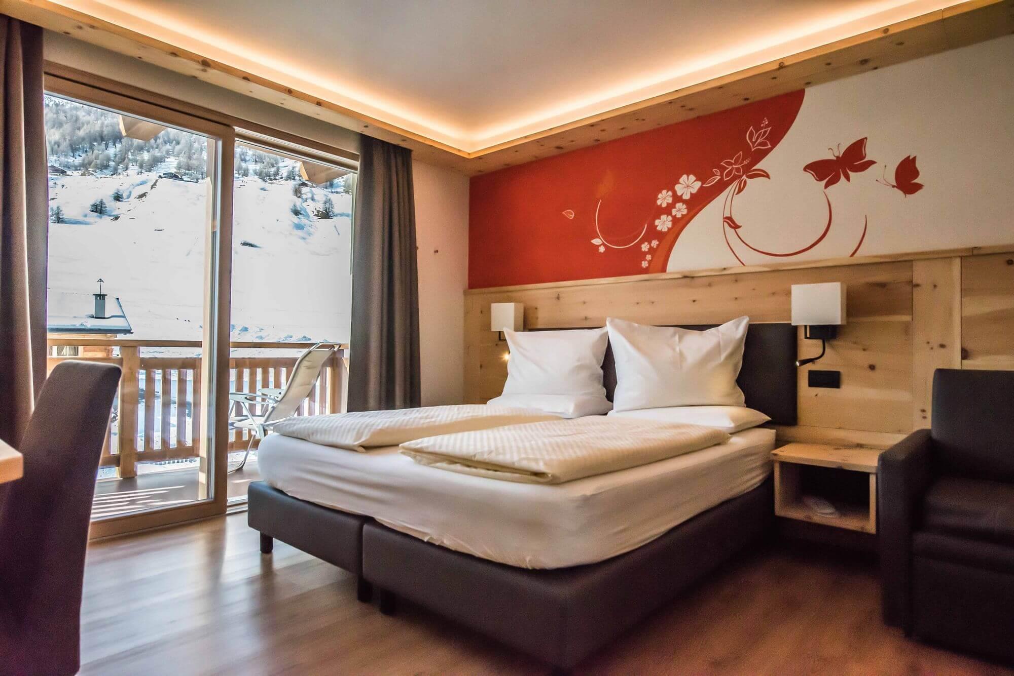 Vacanza rilassante a Livigno: Camera Superior dell'Hotel Le Alpi