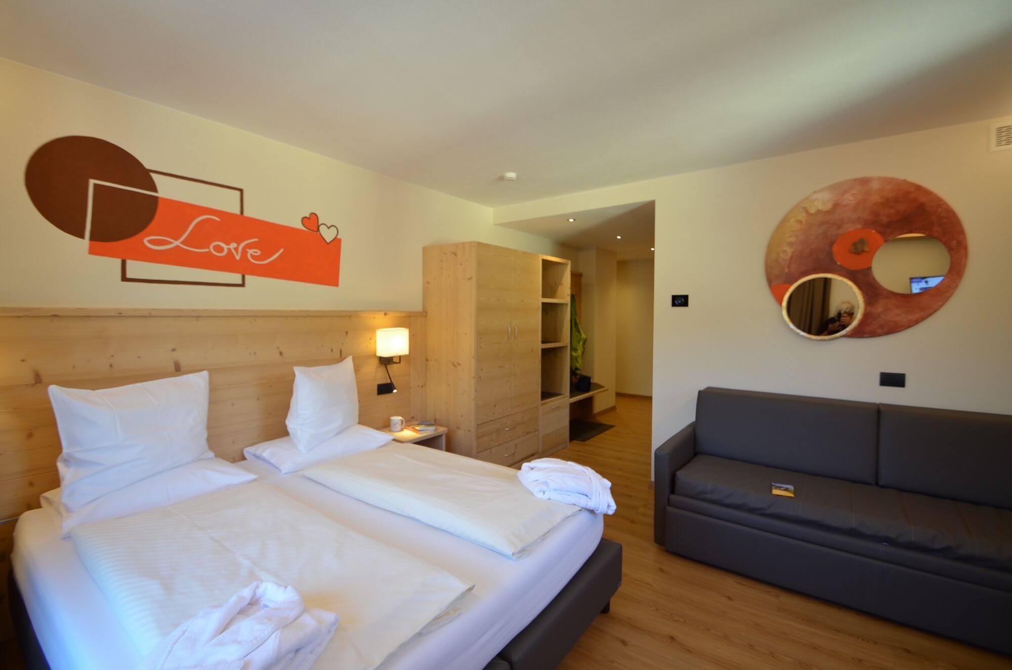 Vista d'insieme sulla Junior Suite: Hotel Le Alpi a Livigno
