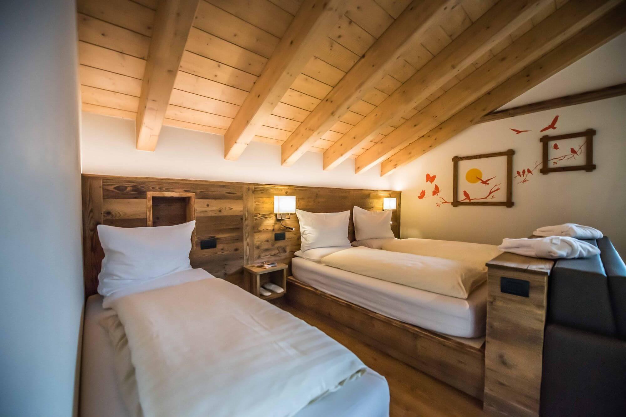 Suite alpina in legno: Hotel Le Alpi a Livigno