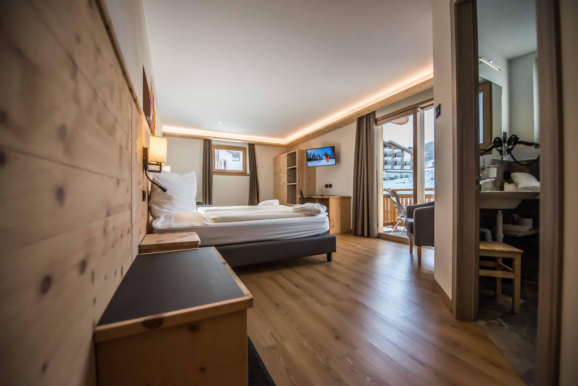 Vista sulla Junior Suite: Hotel Le Alpi a Livigno