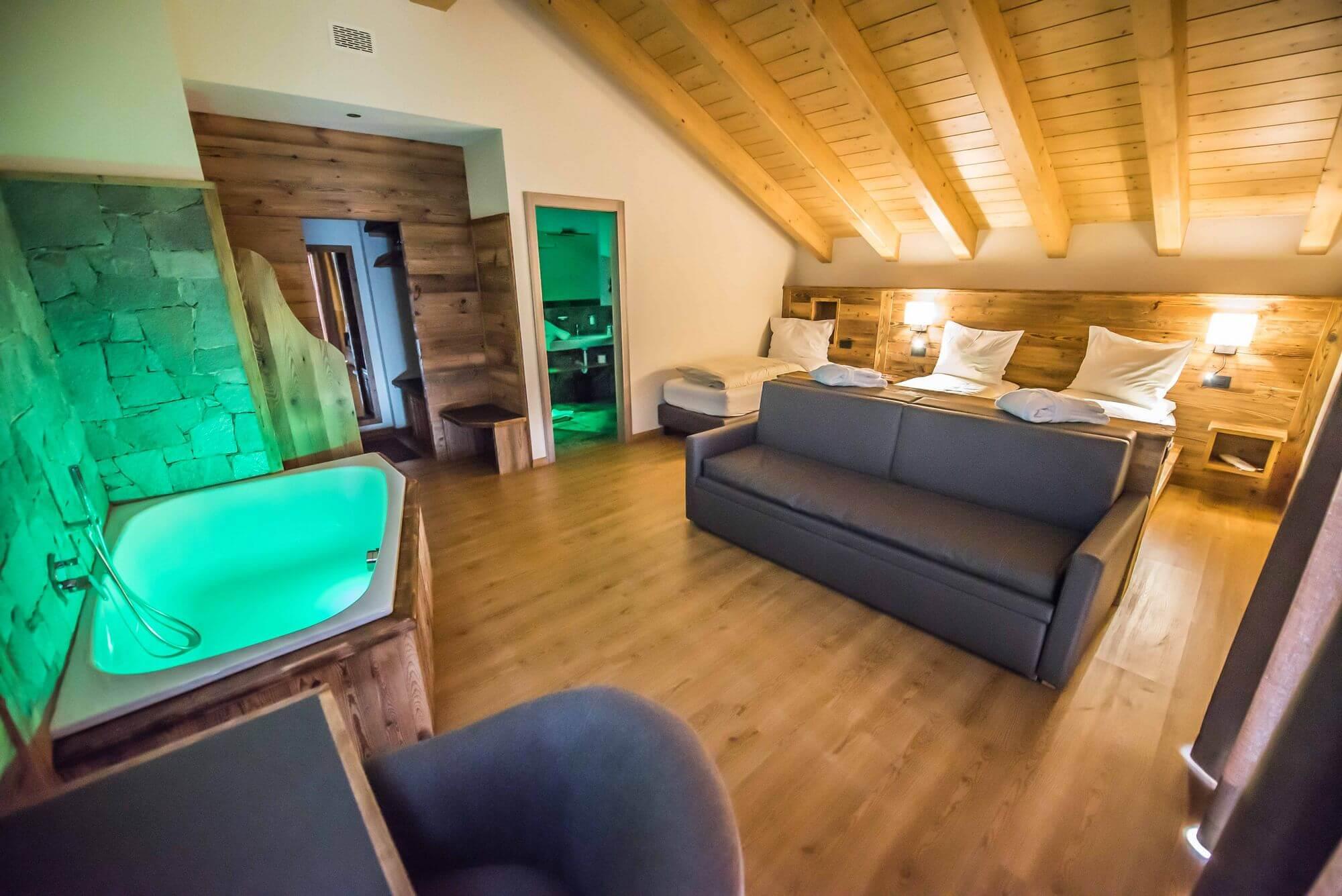 Bellissima suite con tutti i comfort: Hotel Le Alpi
