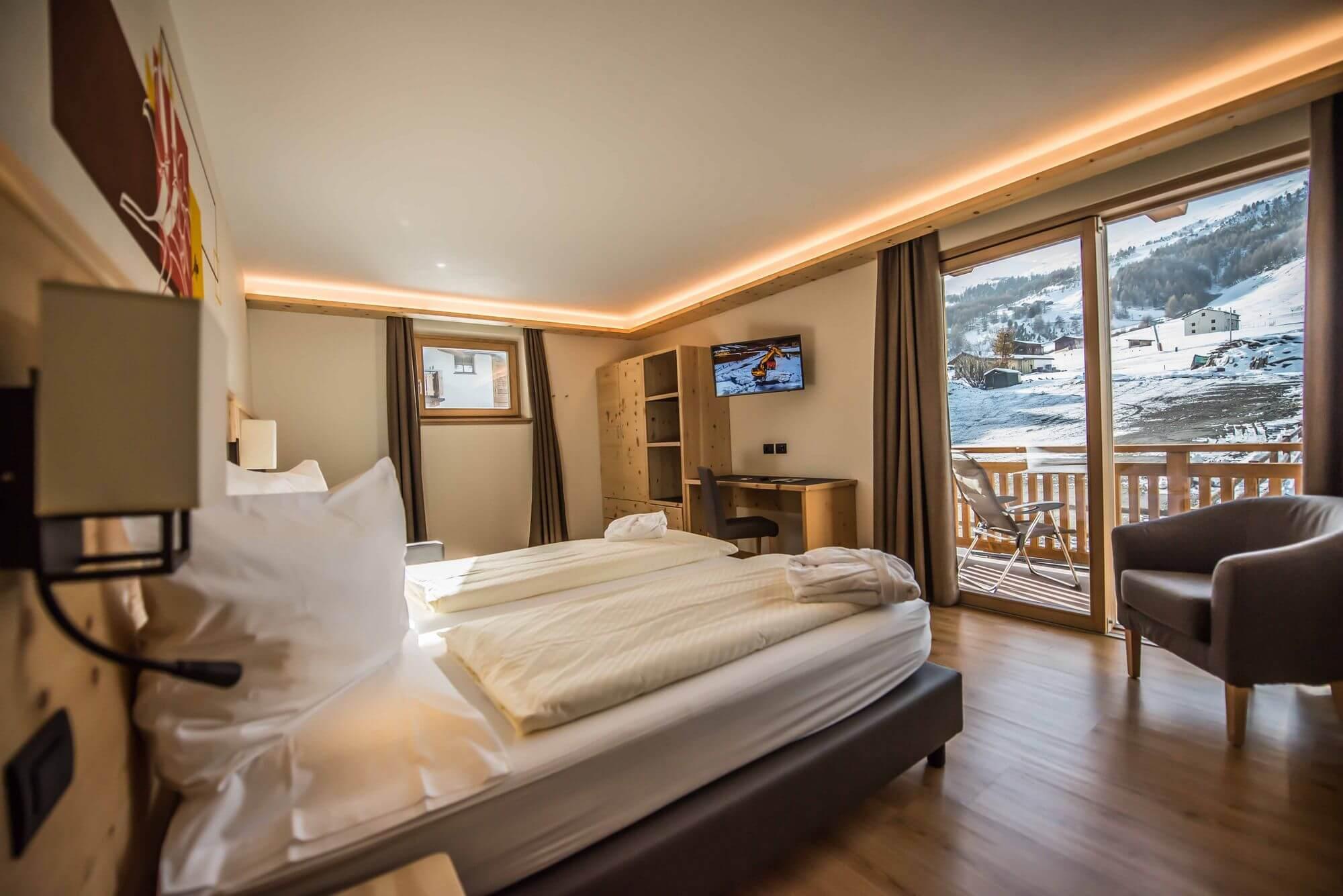 Junior Suite con vista sulle montagne: Hotel Le Alpi a Livigno