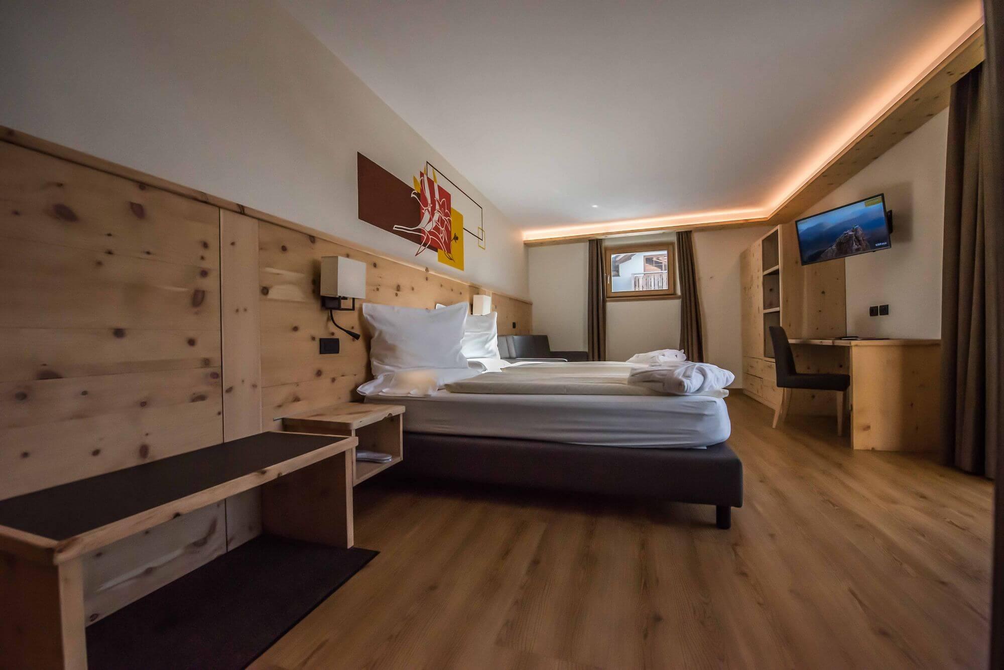 Grande e confortevole Suite: Hotel Le Alpi a Livigno