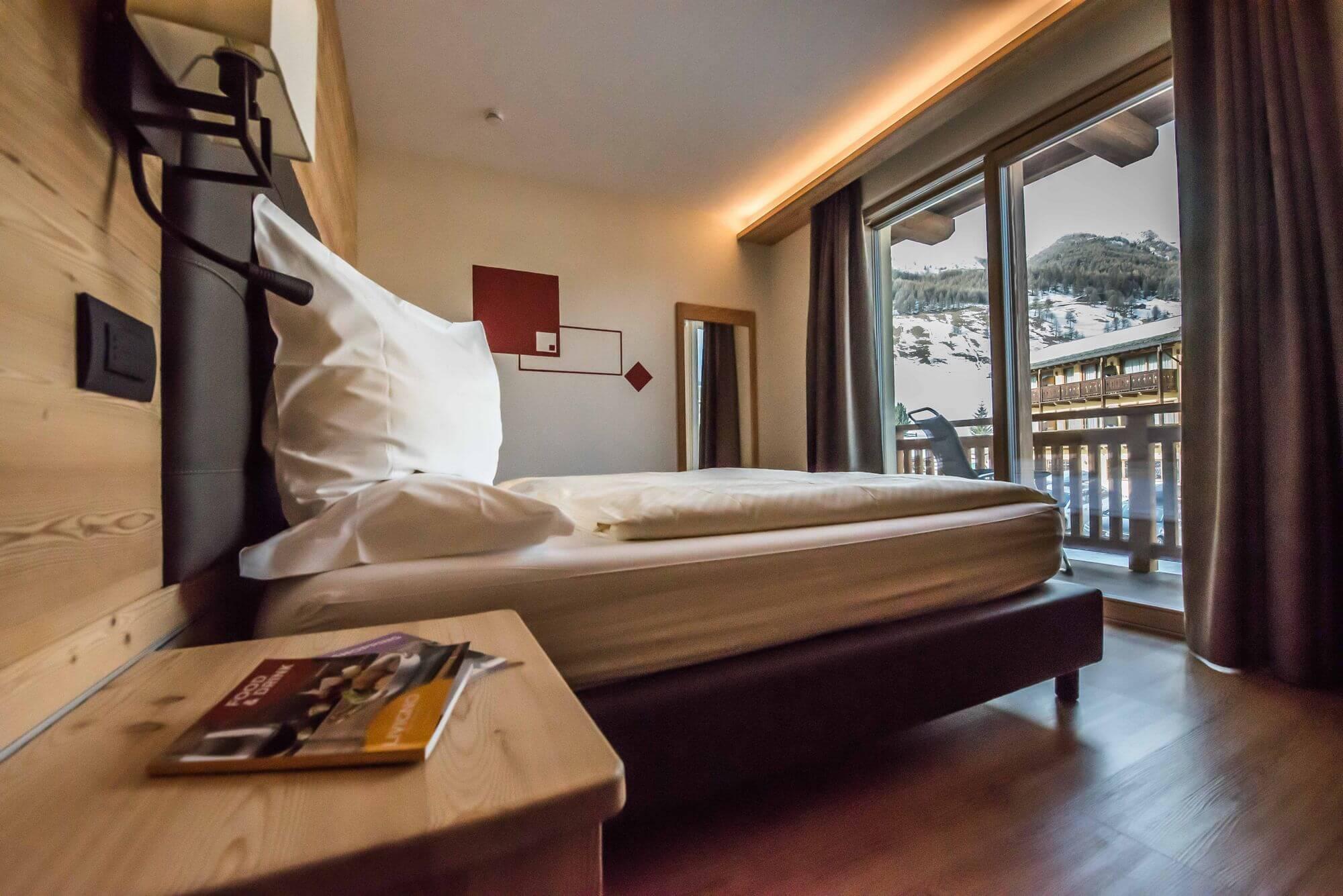 Camera accogliente a Livigno: Hotel Le Alpi