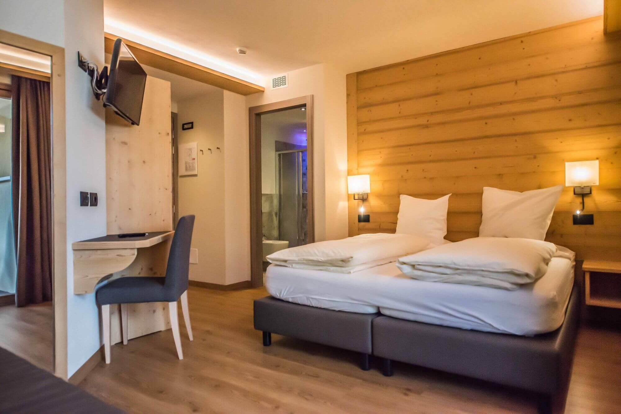 Camera Comfort con letto matrimoniale e ampio bagno