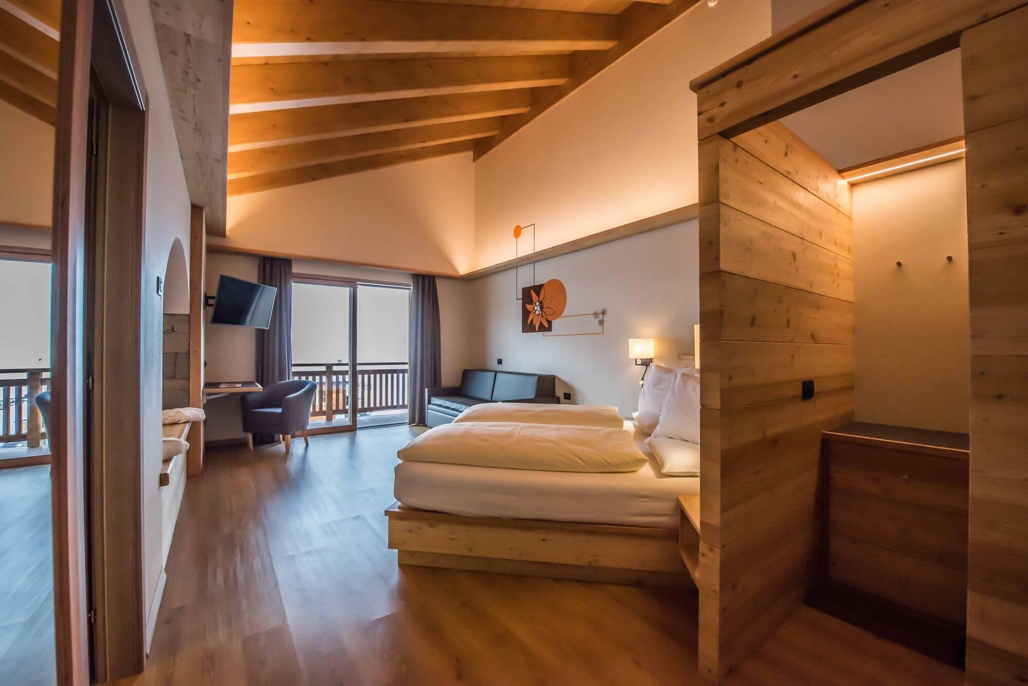 Ingresso della Suite: Hotel Le Alpi a Livigno
