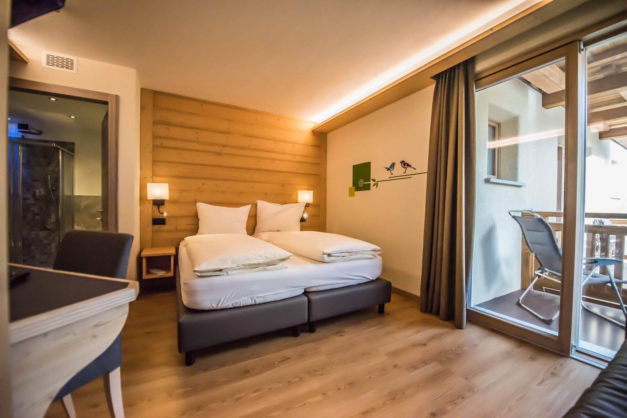Camera Comfort per una vacanza rilassante a Livigno